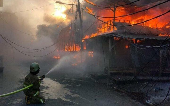 Ini Dugaan Penyebab Kebakaran di Pasar Kambing Tanah Abang - JPNN.com