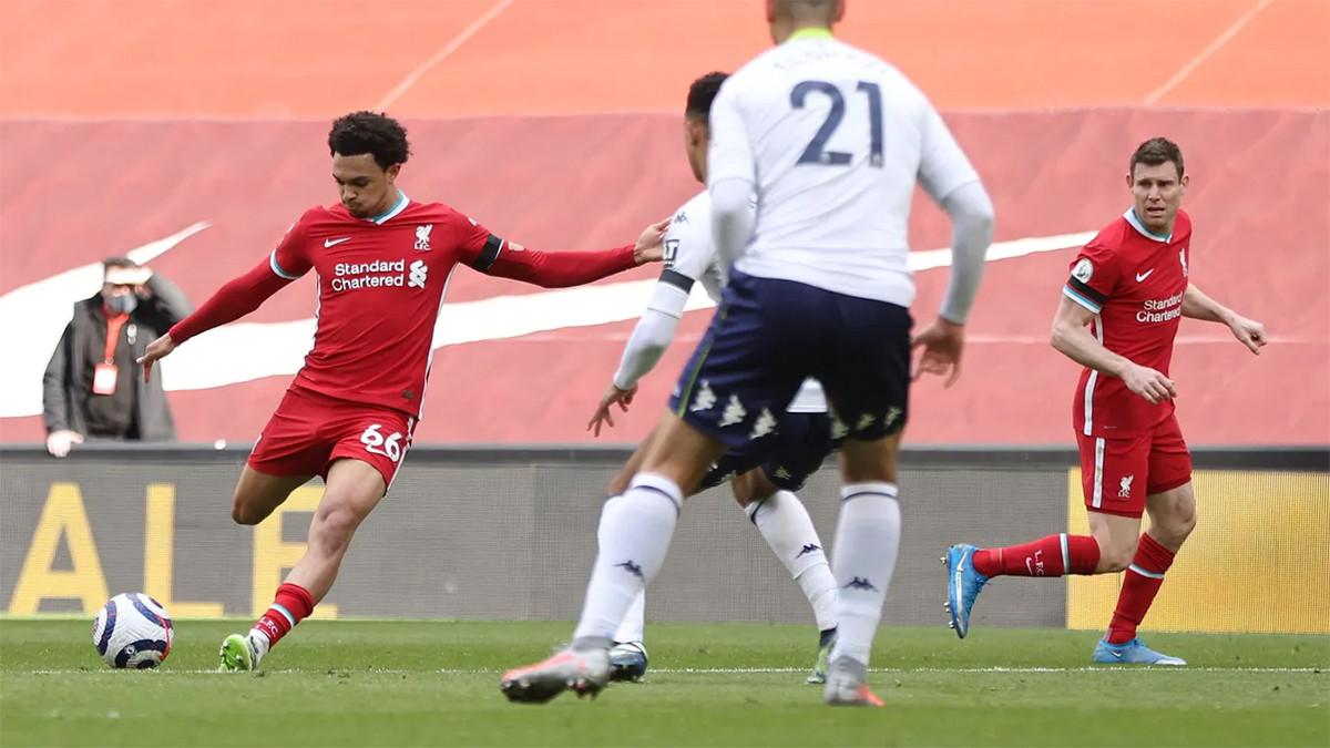 Tepuk Tangan! Liverpool Raih Kemenangan Pertama Kandang 2021 - JPNN.com
