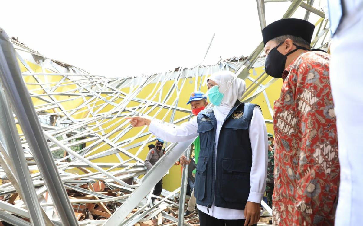Gubernur Khofifah Pastikan Semua Biaya Perawatan Korban Gempa Malang Ditanggung Pemerintah - JPNN.com