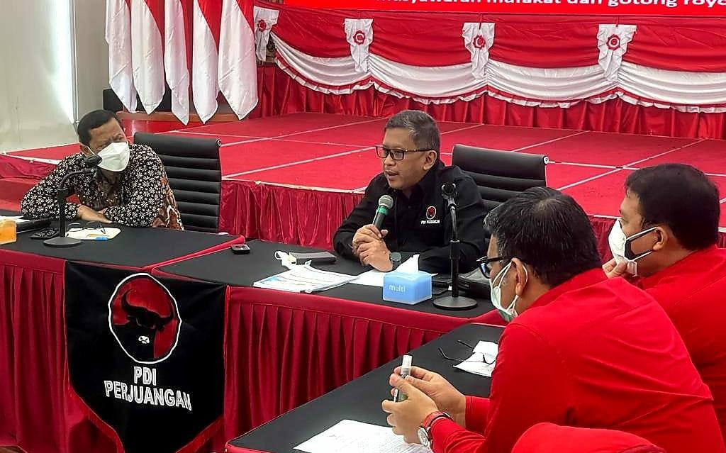 KPK Sambangi Markas PDIP, Suasana Hangat, Ada Kesepakatan - JPNN.com