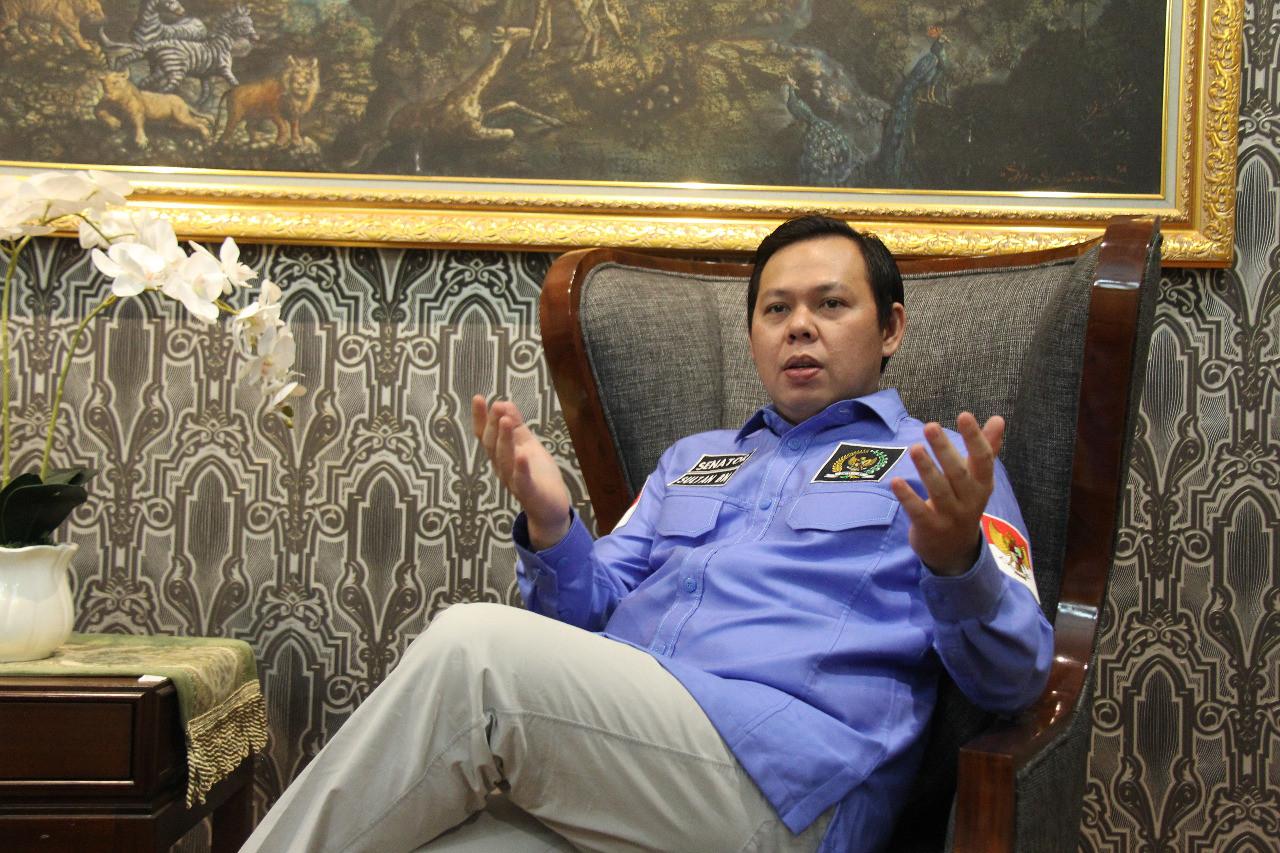Isu Reshuffle Kabinet Menguat Lagi, Begini Reaksi Sultan Najamudin - JPNN.com