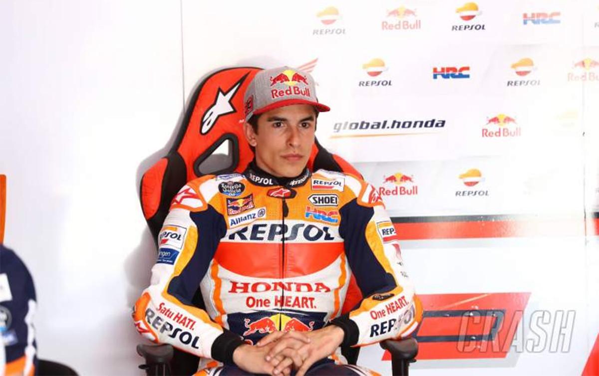FP1 MotoGP Portugal: Marc Marquez Memang Gila - JPNN.com