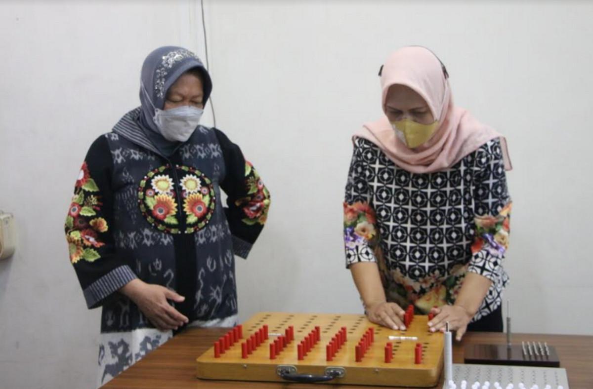Kunjungi Balai Rehabilitasi Vokasional Cibinong, Mensos Ingin Penerima Manfaat Kuasai Teknologi Terbaru - JPNN.com