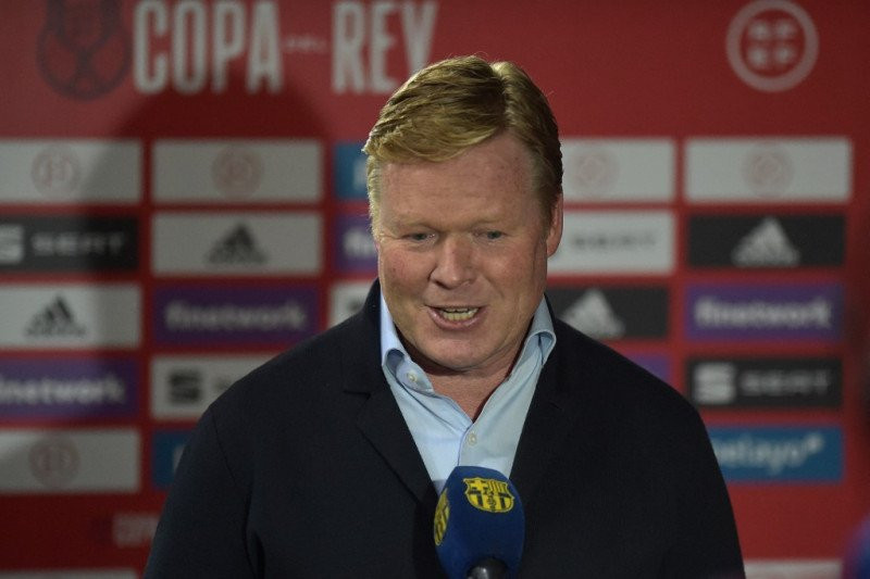 Koeman Incar Trofi La Liga Setelah Barca Juara Copa del Rey 2021 - JPNN.com