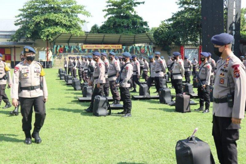 Polda Sumut Kerahkan 2 SSK Brimob ke Labuhanbatu - JPNN.com