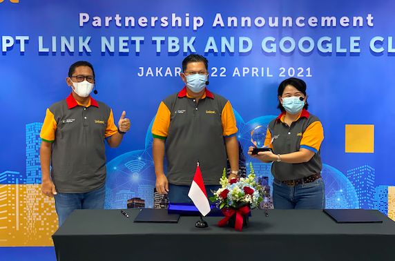 Percepatan Transformasi Digital, Link Net Gandeng Google Cloud Indonesia - JPNN.com