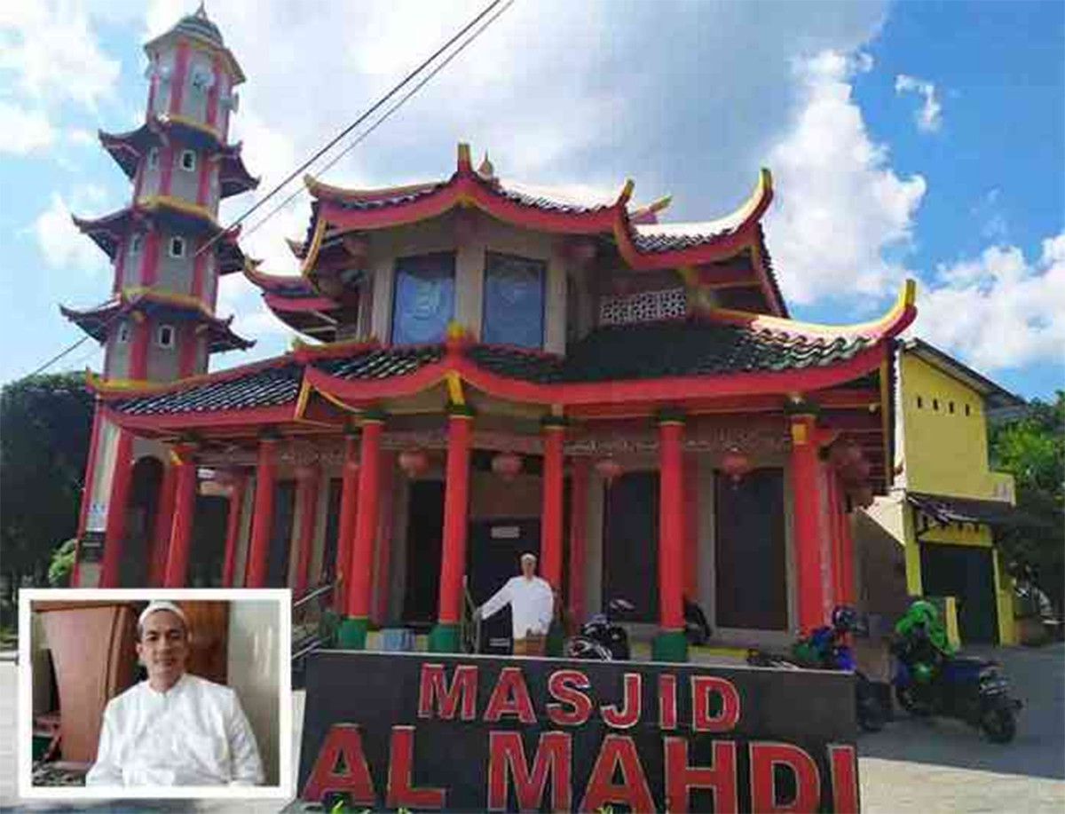 Ustaz Mahdi, Warga Keturunan Tionghoa jadi Mualaf, Lihat Masjid yang Dia Dirikan - JPNN.com