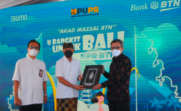 Pulihkan Ekonomi, BTN Gelar Akad KPR Massal di Bali - JPNN.com
