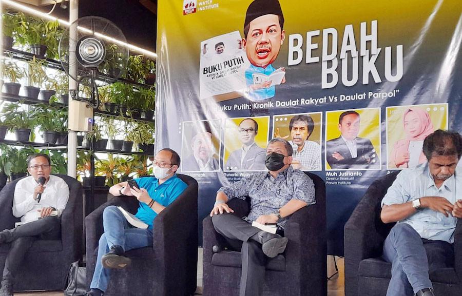 Buku Putih Fahri Hamzah Ungkap Perkembangan Partai Gelora - JPNN.com