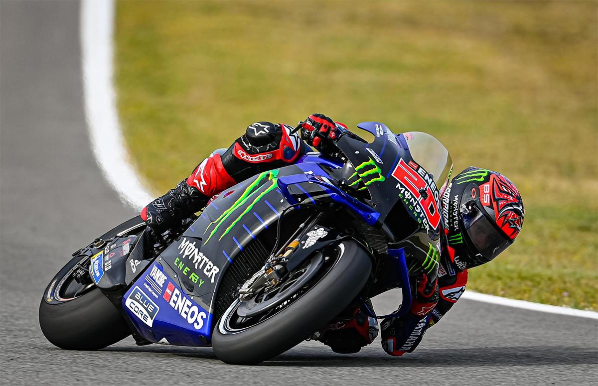 Hasil Kualifikasi MotoGP Spanyol: Tampil Galak, Quartararo Back to Back - JPNN.com