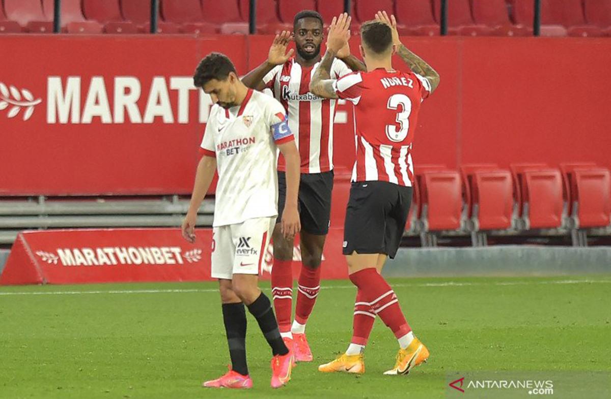 Kalah dari Athletic Bilbao, Sevilla Gagal Merapat ke 3 Besar - JPNN.com