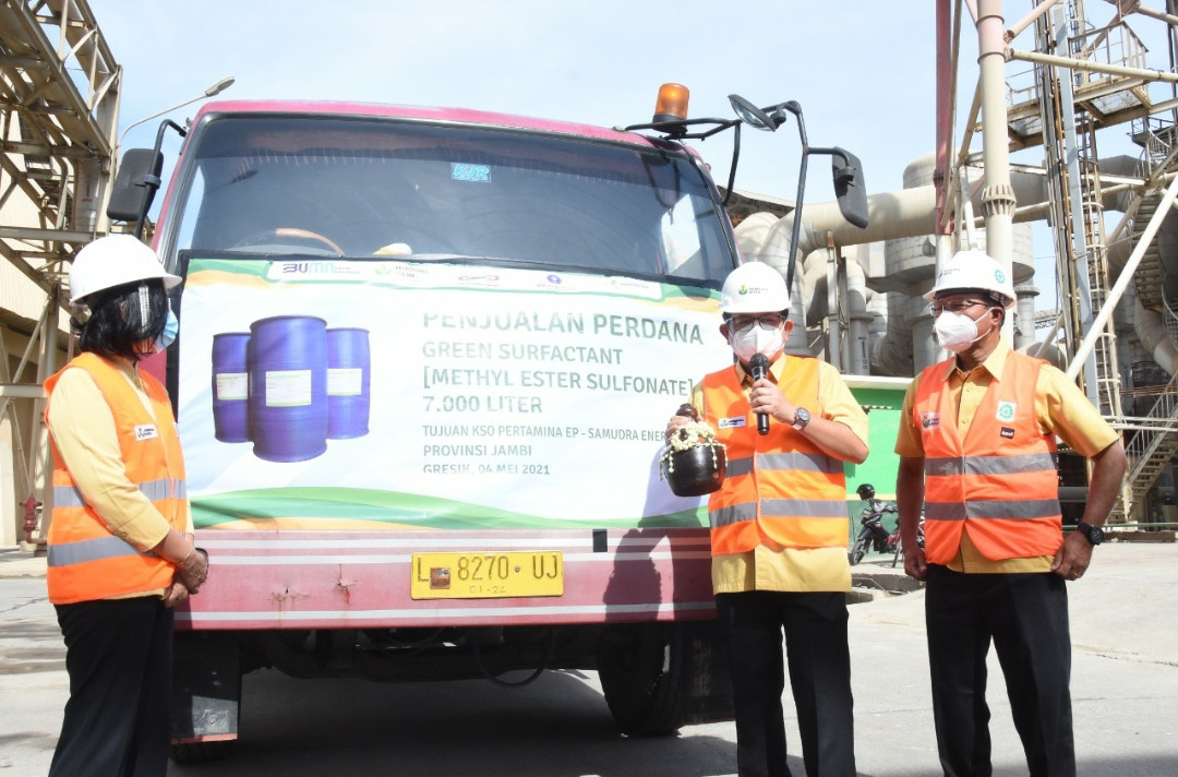Green Surfactant Produksi Petrokimia Gresik Diminati Industri Migas di Indonesia - JPNN.com