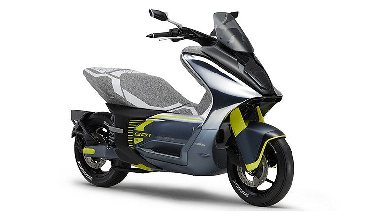 Yamaha E01, Skutik Listrik Pesaing Honda PCX Siap Meluncur - JPNN.com