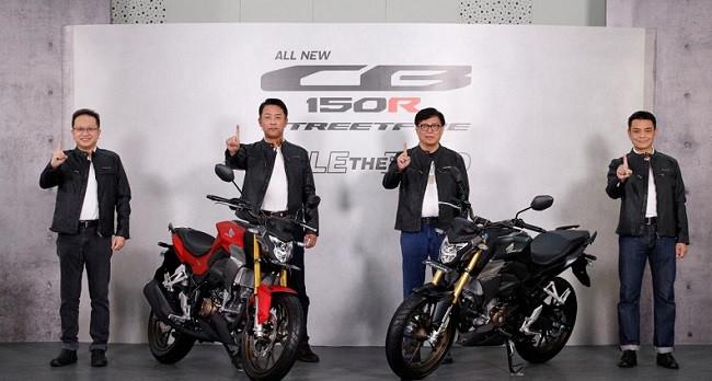 Honda CB150R Streetfire 2021 Resmi Meluncur, Intip Spesifikasi dan Harganya - JPNN.com