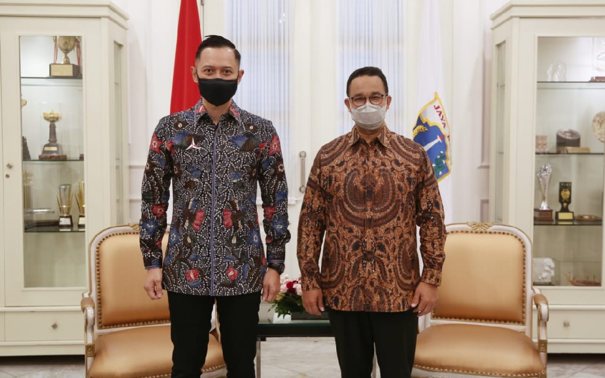 Bertemu Gubernur DKI Jakarta, AHY : Demokrat Mendukung Langkah Anies - JPNN.com