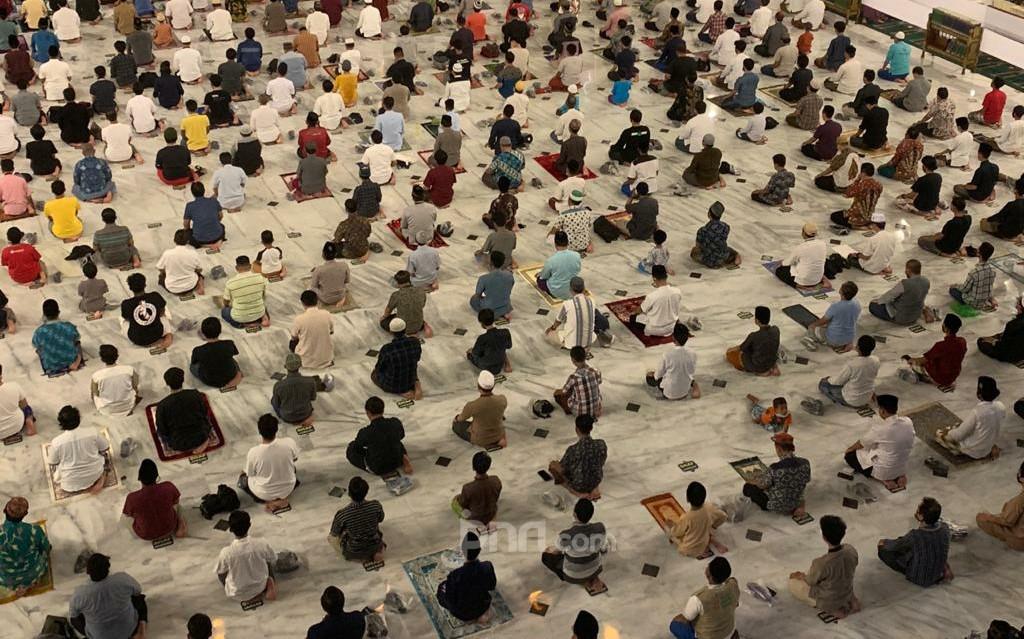 Khotbah Salat Id Masjid Al Akbar Surabaya Dibatasi 10 Menit - JPNN.com Jatim
