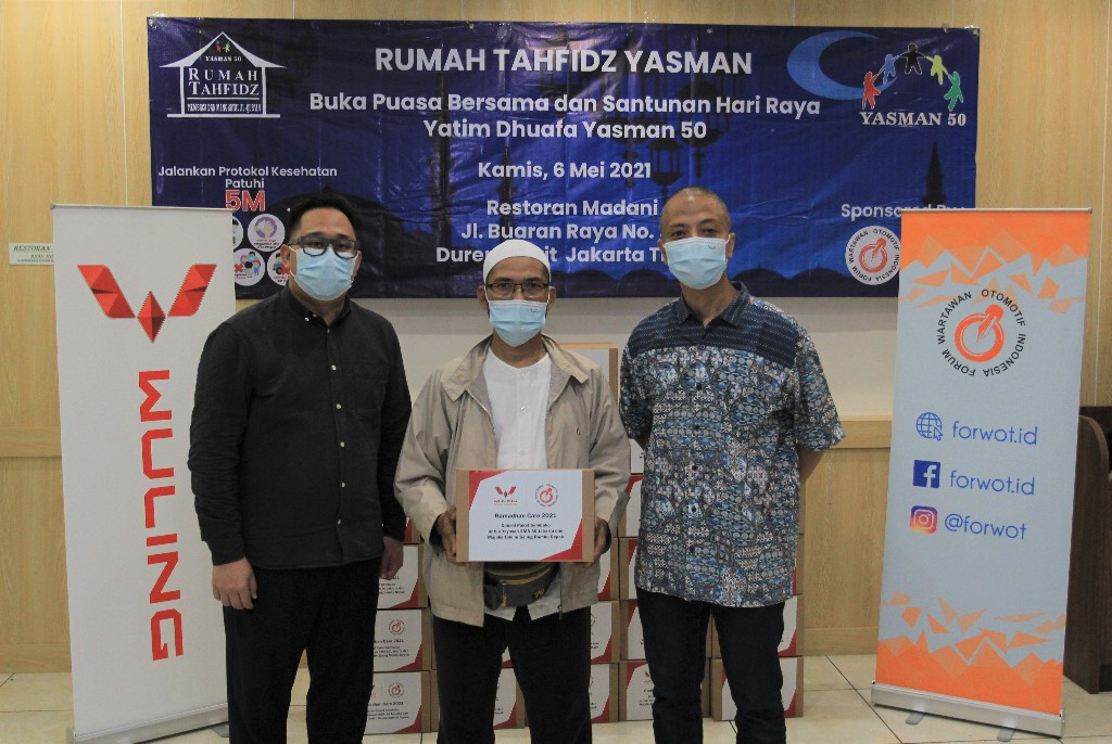 Wuling Berkolaborasi dengan Forwot Sukseskan Program Ramadhan Care 2021 - JPNN.com