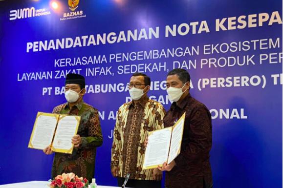 Permudah Pembayaran Zakat, BTN Syariah Gandeng Baznas - JPNN.com