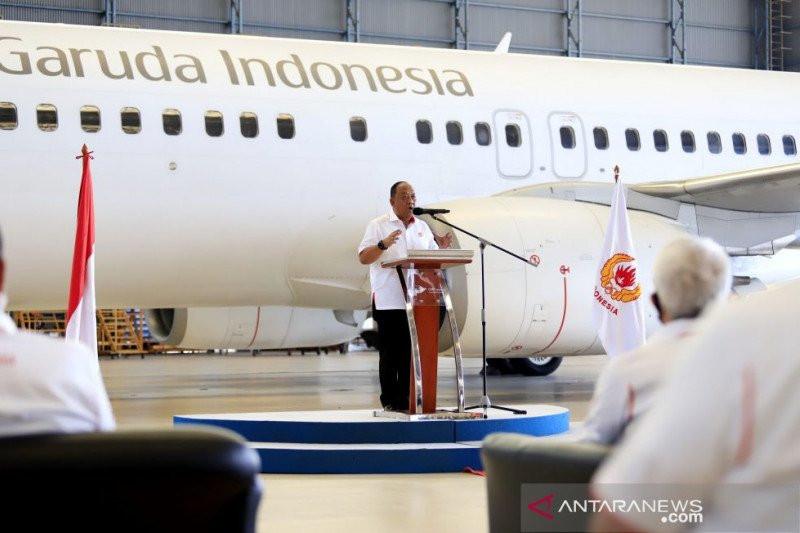 Garuda Resmi jadi Maskapai Penerbangan Kontingen Indonesia - JPNN.com
