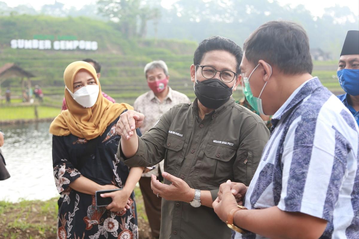 Jelang Libur Lebaran, Gus Menteri Ingatkan Desa Wisata soal Protokol Kesehatan - JPNN.com