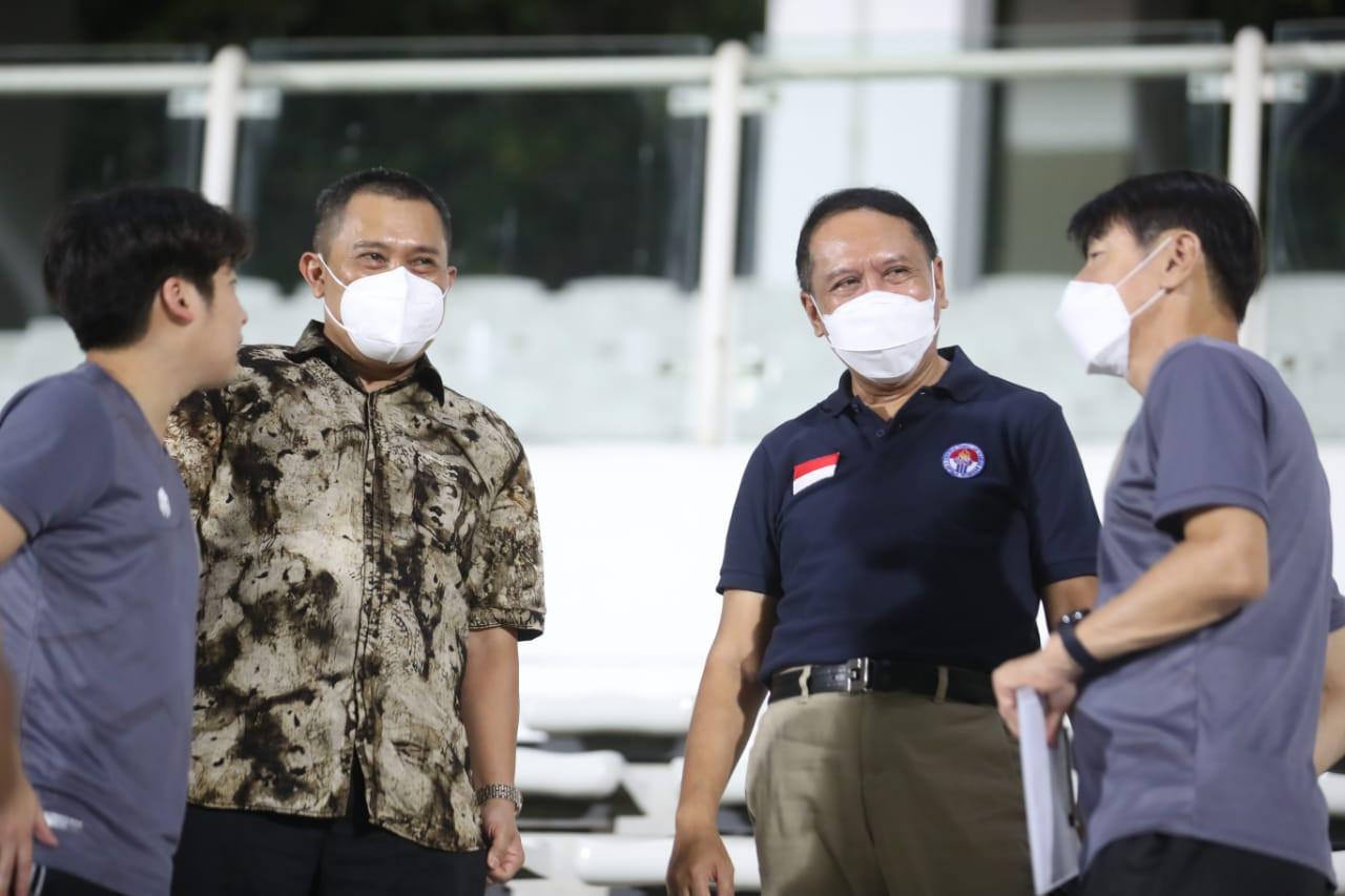 Menpora Amali Bikin Kaget Timnas Indonesia dan Shin Tae Yong - JPNN.com