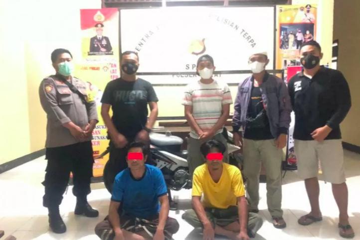Jual Motor Curian di Medsos, Dua Pemuda Ini Pasrah saat Dijemput Polisi - JPNN.com