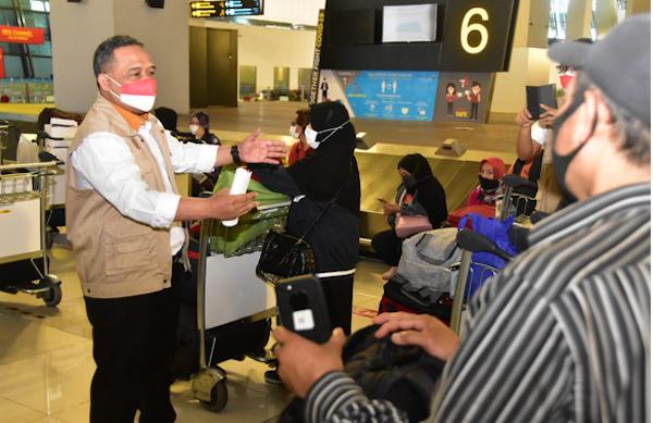 1.278 Pekerja Migran Pulang ke Indonesia, Begini Reaksi Kepala BP2MI - JPNN.com