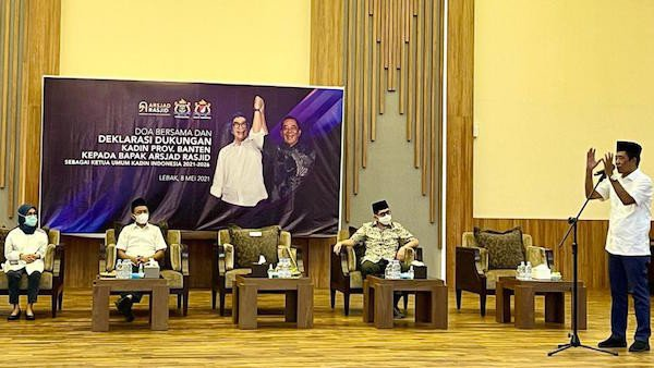 Kadin Banten Deklarasikan Dukungan untuk Arsjad Rasjid - JPNN.com
