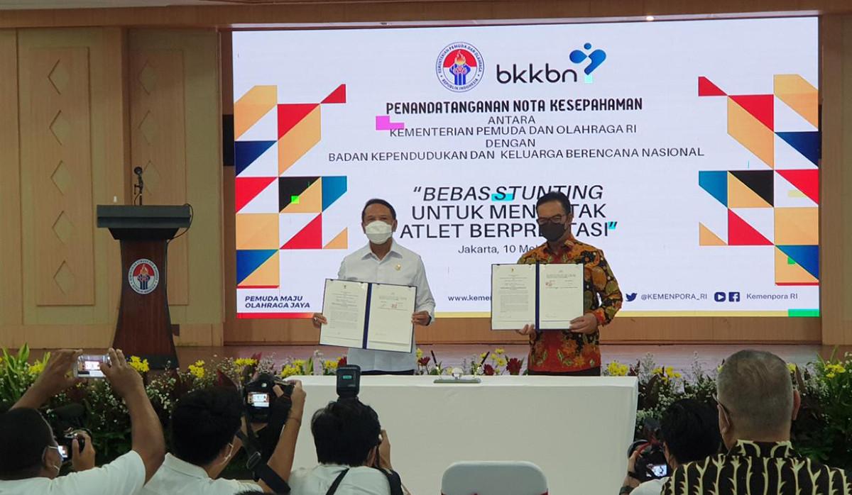 Menpora Ingin Indonesia Bebas Stunting Demi SDM Unggul dan Atlet Berprestasi - JPNN.com