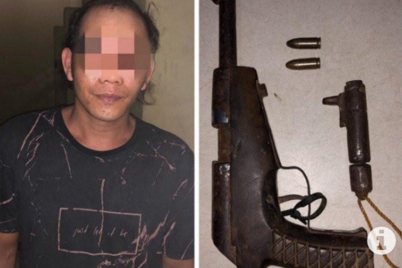 PH Ditangkap Tim Gabungan, Senjata Apinya Disita - JPNN.com