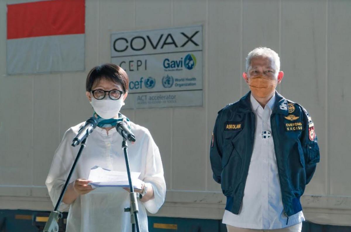 Menlu Apresiasi Pelayanan Prima Bea Cukai dalam Proses Importasi Vaksin Covid-19 - JPNN.com