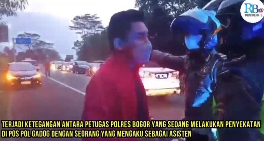Heboh Video Viral Pria Tolak Diadang Petugas Penyekatan, Ketum PSSI Belum Merespons - JPNN.com