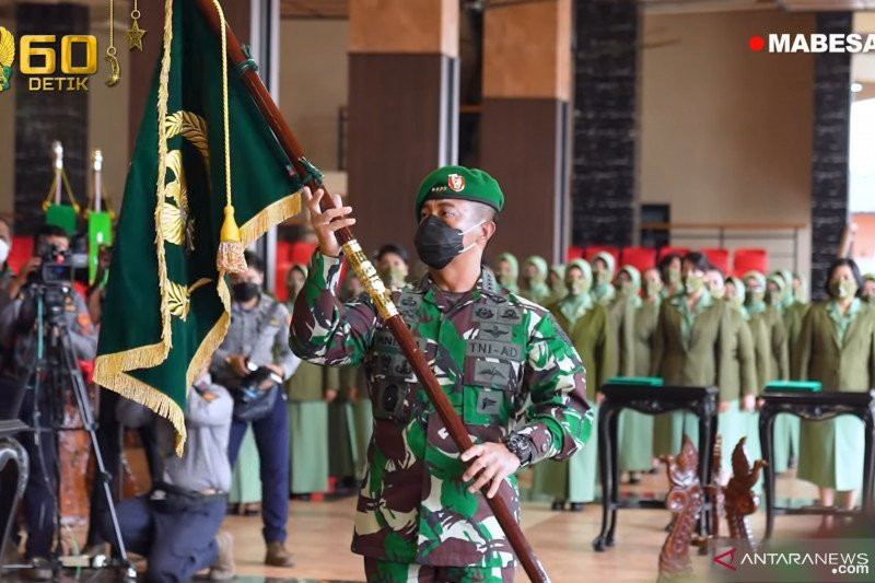 Jenderal Andika Terima Laporan Kenaikan Pangkat 25 Pati TNI AD, Dua di Antaranya Isi Jabatan Strategis - JPNN.com