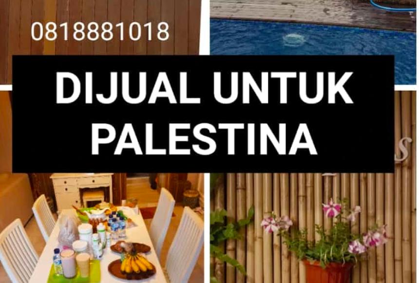 Palestina Diserang, Dermawan Ini Sampai Jual Vilanya untuk Donasi - JPNN.com Jatim