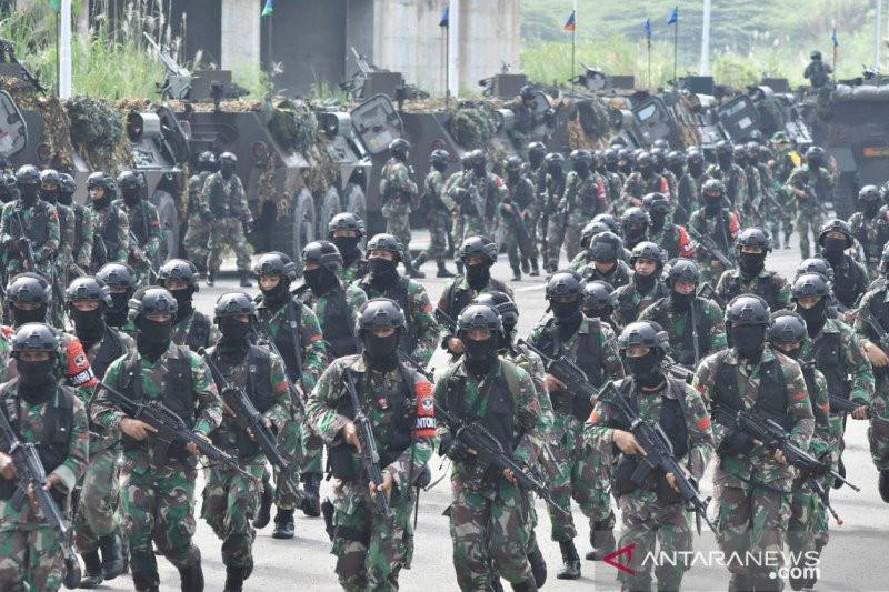 992 Prajurit Kodam Jaya Bersenjata Datangi Meikarta, Ada yang Mengendap-endap