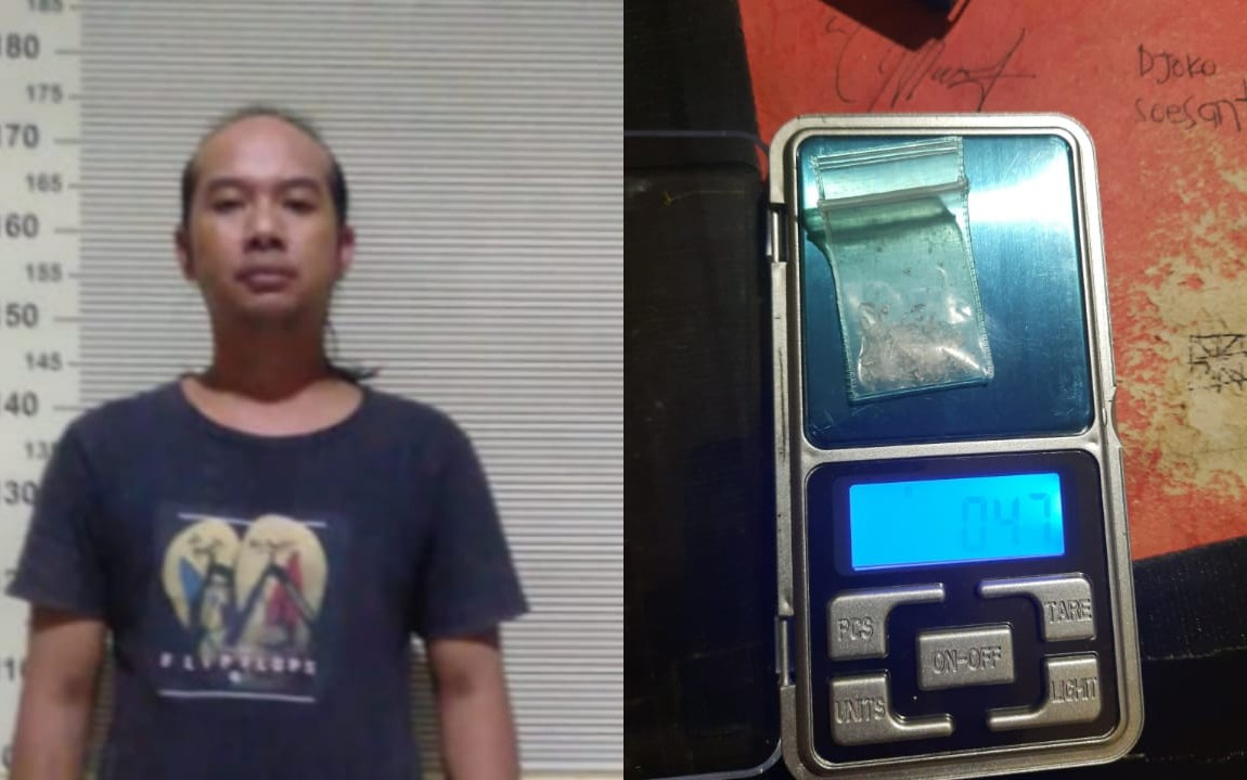 Lempar Sabu-Sabu, Sembunyi Tangan, Totok Orangnya - JPNN.com Jatim