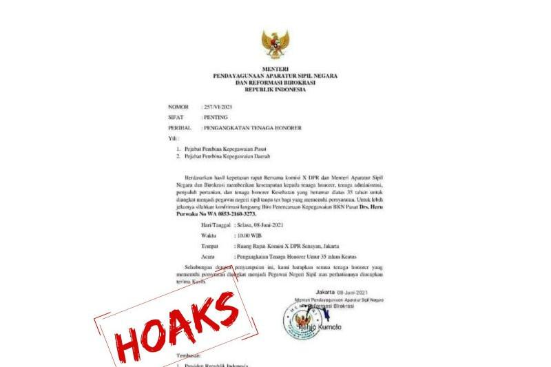 Hati-hati, Ada Surat Palsu Tentang Pengangkatan Tenaga Honorer - JPNN.com