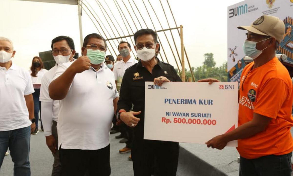 Mentan Syahrul Perkuat Regenerasi Petani dengan Smartfarming - JPNN.com