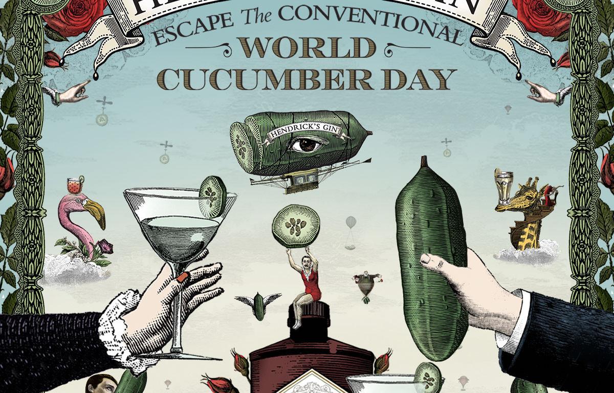 Cara Hendrick's Gin Rayakan Hari Mentimun Sedunia - JPNN.com