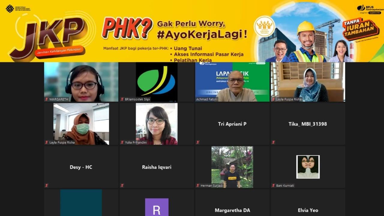 BPJamsostek Jakarta Slipi Gencar Sosialisasi Program Jaminan Kehilangan Pekerjaan - JPNN.com