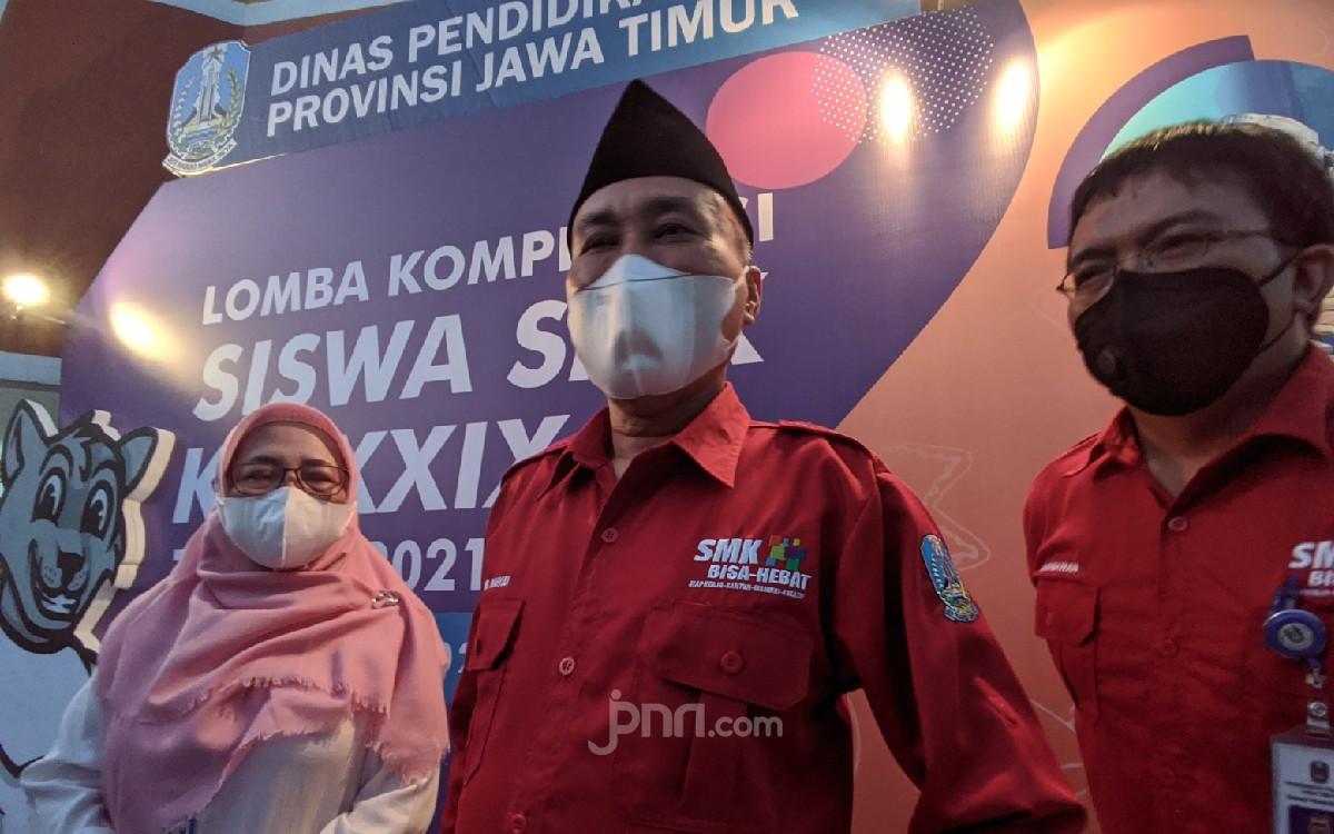 Disdik Pastikan Tak Ada Klaster COVID-19 dari PTM Jenjang SMA/SMK di Jatim - JPNN.com Jatim