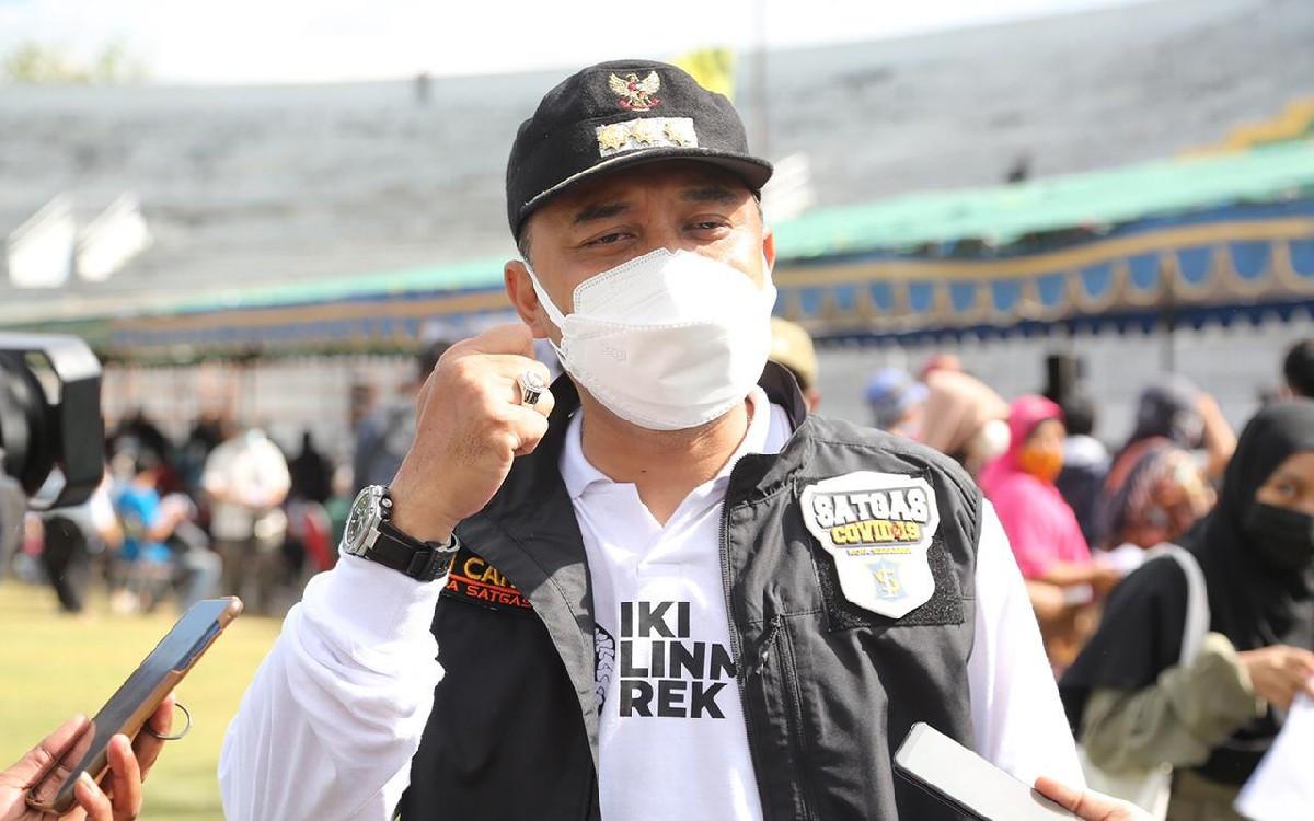 Wali Kota Eri Janjikan 2 Mahasiswa UM Surabaya Bekerja di Pemkot - JPNN.com