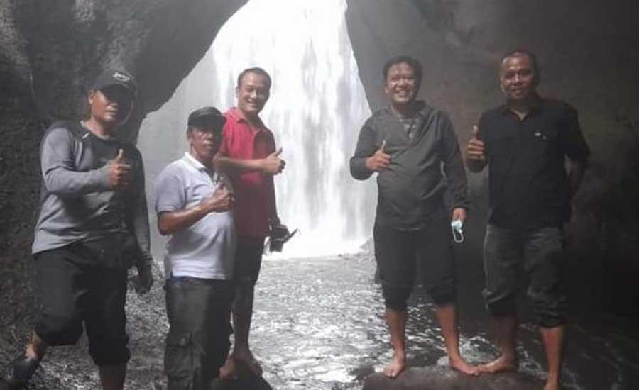 Air Terjun Tukad Cepung; Pesona Surga Dunia di Tembuku Bangli - JPNN.com Bali