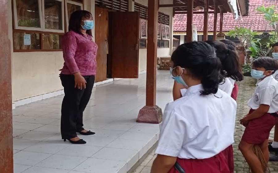 Disdik Gianyar Mulai Gelar Belajar Tatap Muka Senin Besok, Ini Teknisnya - JPNN.com Bali