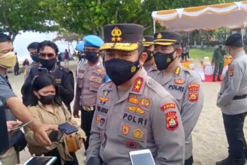 Polda Bali Mulai Uji Coba Ganjil Genap di Sanur dan Kuta, Ini Pesan Irjen Jayan Danu - JPNN.com Bali
