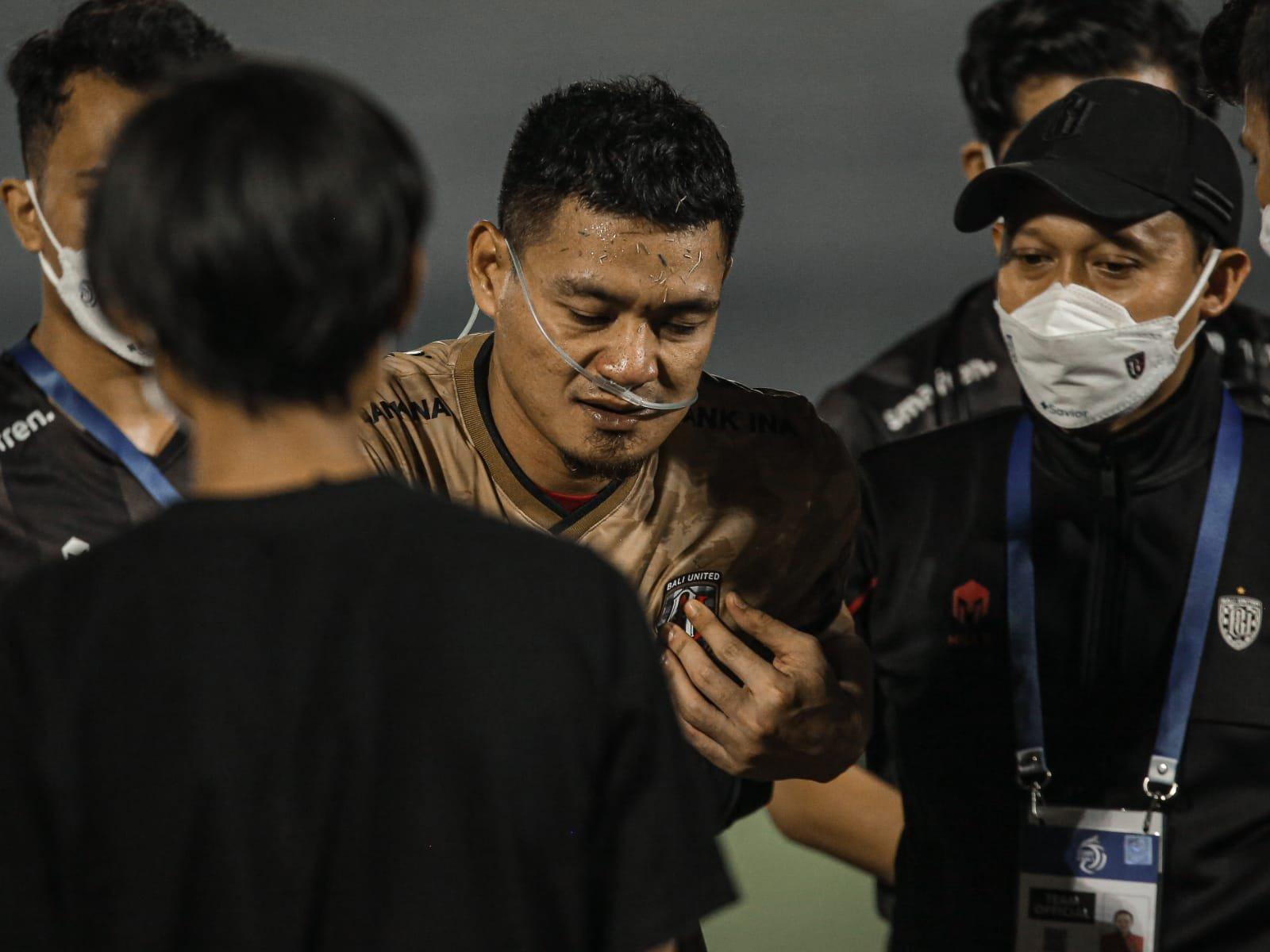 Wawan Hendrawan Terkapar Usai Benturan, Begini Kondisinya Sekarang - JPNN.com Bali