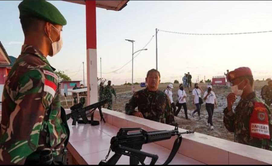 Pangdam Udayana Mayjen TNI Maruli Cek Prajurit Penjaga NKRI di Pulau Terluar, Ini yang Dilakukan - JPNN.com Bali