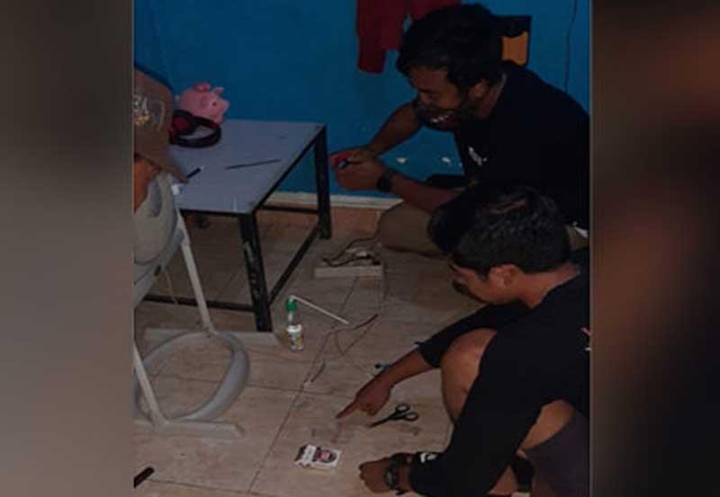 Pemilik Indekos di Cakranegara Mataram Nyambi Jual Sabu, saat Dibekuk Bilang Begini - JPNN.com Bali