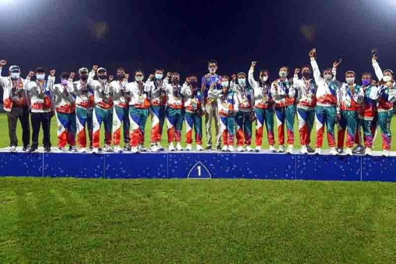 Bali dan Papua Berbagi Emas di Kriket Super Sixies PON Papua - JPNN.com Bali