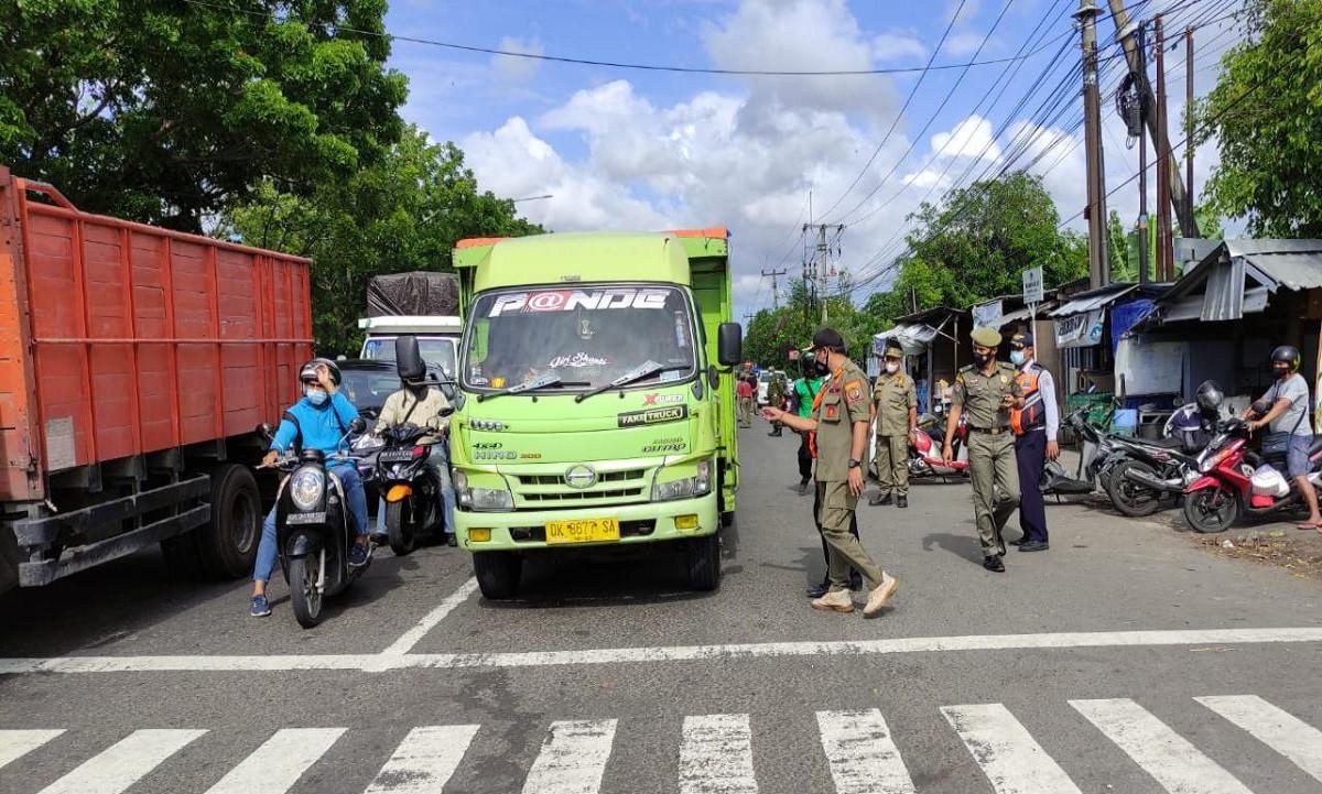 11 Pelanggar Prokes di Kertalangu Denpasar Diganjar Denda Rp100 Ribu - JPNN.com Bali